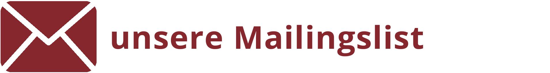 auf die Mailingliste