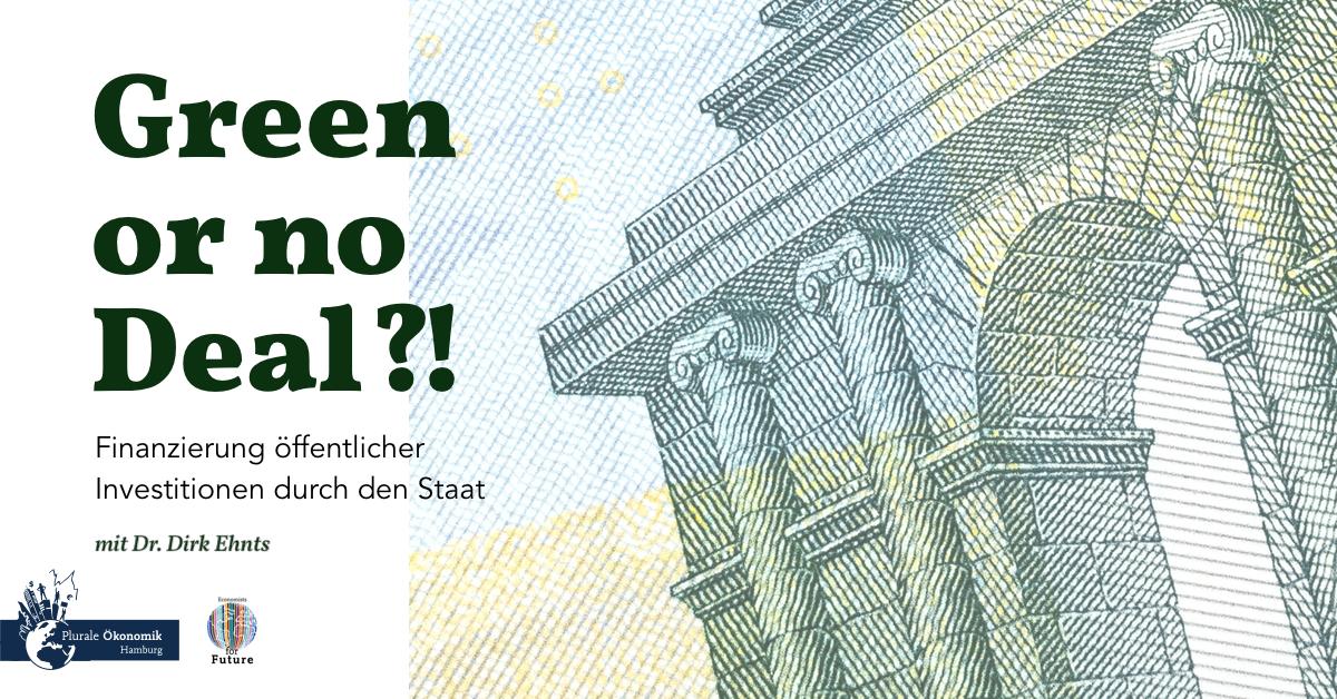 Green or no Deal! – Dirk Ehnts über MMT